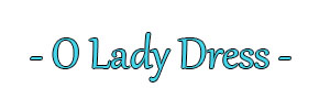 O Lady Dress