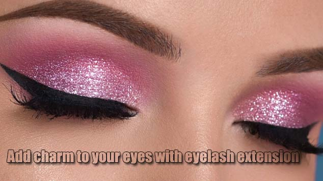Add charm to your eyes with eyelash extension