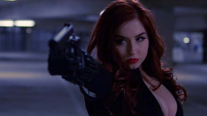 best black widow cosplay