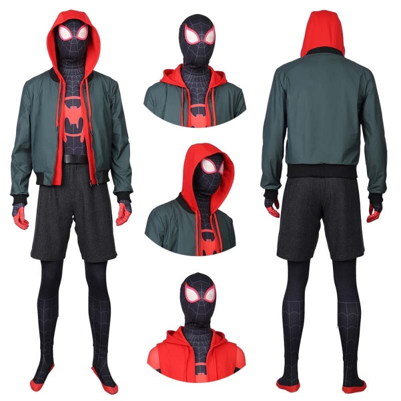 miles morales cosplay suits