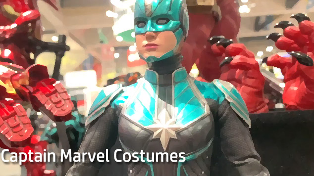 Best Choice For 2019 Halloween Cosplay – Captain Marvel Costumes