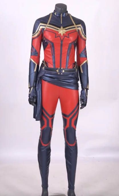 captain marvel endgame cosplay costumes by simcosplay
