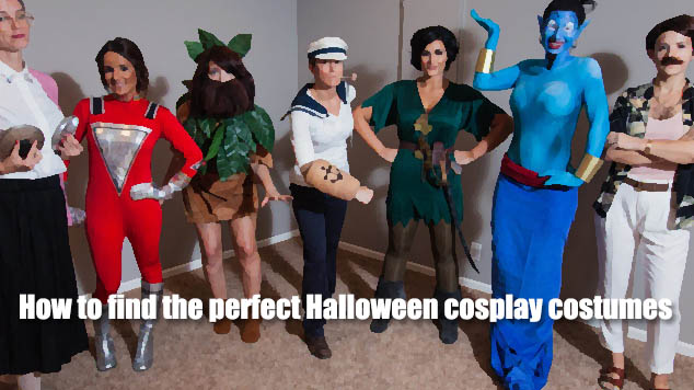 How to find the perfect Halloween cosplay costumes