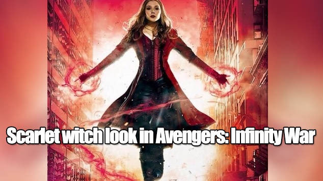 How to get the accurate Scarlet witch look in Avengers: Infinity War
